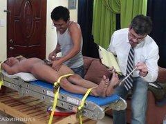 Tickling Gay Asian Twink Alex