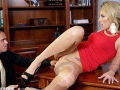 Jenny Simons Banged On Desk