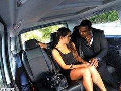 Gala Brown Bbc In The Car
