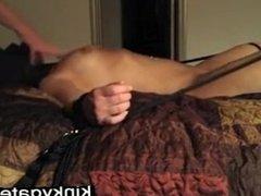Flogging cunt my tied slave Dora