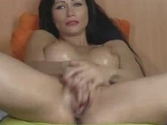 Hot Babe Playing With Her Pussy