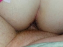 My ass gets fucked good and takes a load