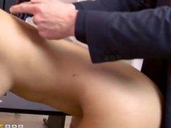Big tits at work Cara Saint German