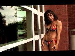Anne Marie Kam - Red Bikini 01