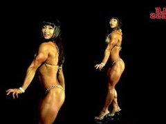 FBB korean Kim Ji Hyun sexy posing