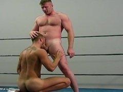 Wrestling take down