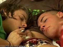 Boys masturbation videos London Lane gives Devon and Ayden a hell of a