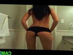 Brunette Fart: Free Farting Porn Video f2