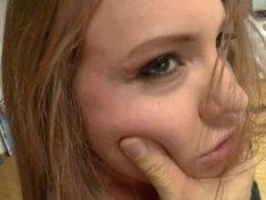 Maddy O' Reilly Sucks Big Cock