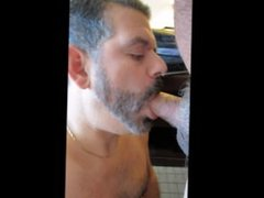 Sucking a buddy with an awesome fact cock....teaser :)