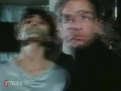 Victoria Principal wrap gagged and bound by Blind Witness