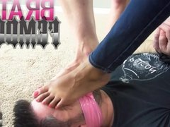 FOOT FETISH FEMDOM MIA AMOR JASON NINJA FOOT SMELLING