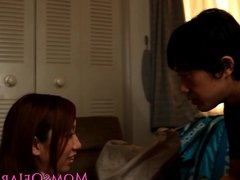 Japanese milf titfucking before cumshot