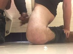 Jerk off in the toilet