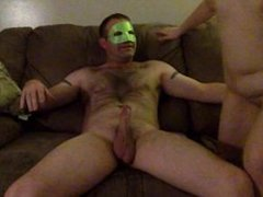Masked wife first time on cam