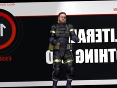 SUPER SEXY HOT Metal Gear Solid CUM ACTION WITH SNAKE!!!