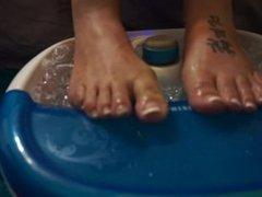 Sexual healing foot bath