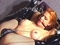 Eve Ellis bound and gagged