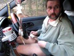im Auto einen Runterholen