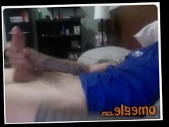001 Omegleboys  Straight lad with tattoos  Sexy shorts