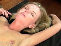 Young College Blonde Loves Cum