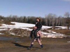Gwen rides Trigger
