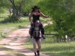 Sherifox rides Trigger 1