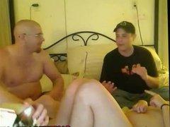 drunken group on webcam in the nude