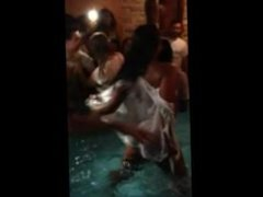 desi girl in pool party