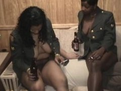 two black mistress facesitting