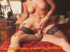 Dad Daughter and GRANNY's HOME ORGY Video