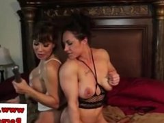 Ava Devine and Brandi Mae sucking pussy for each other