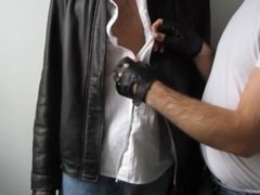 Tickling Rubber 'N' Leather's Bellybutton