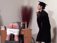 Teacher Canes A Lucky Schoolboy