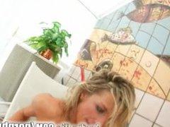 Ass Traffic Blonde girl deepthroats multple cocks get ass pounded