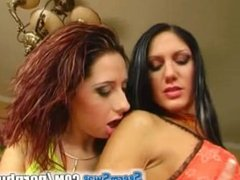 Sperm Swap Horny as hell two chicks that just love that cum