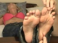 cristy sexy soles tickled