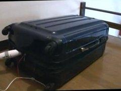 bondage in suitcase