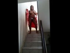 stripping in stairs