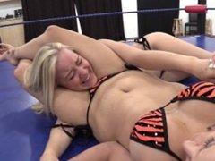 Lesbian Scissor Knockouts