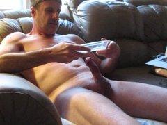 eating cum on web cam