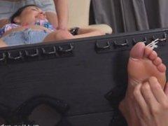 Czech Ticklish girls- Tickle torture gang Frida