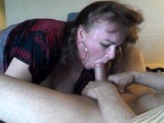 Amateur Mature Slut Sucks