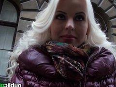 Mofos - Hot blonde Euro babe loves cock