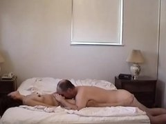 Wife Cumming while I eat her