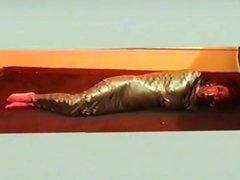 Duct tape mummy