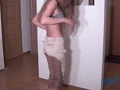 Sexy Naty Piss In Pants