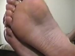Mature Feet Fetish POV