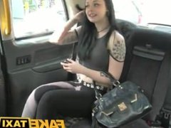 Fake Taxi Hot Brunette gets what she deserves