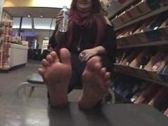 Natural BBW Feet Soles